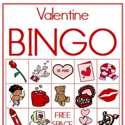Valentine Bingo - Second Story Window