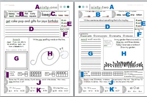 Free Worksheets » Free Writing Worksheets For 2nd Grade - Free ...