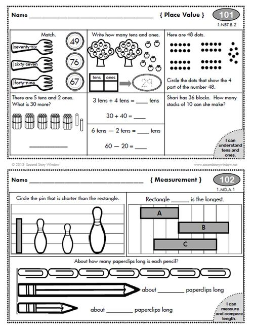 Homework help for first grade