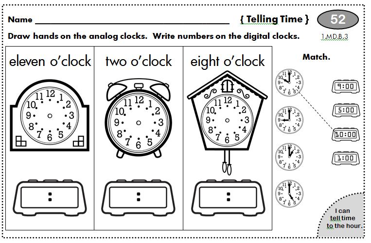 homework for first graders