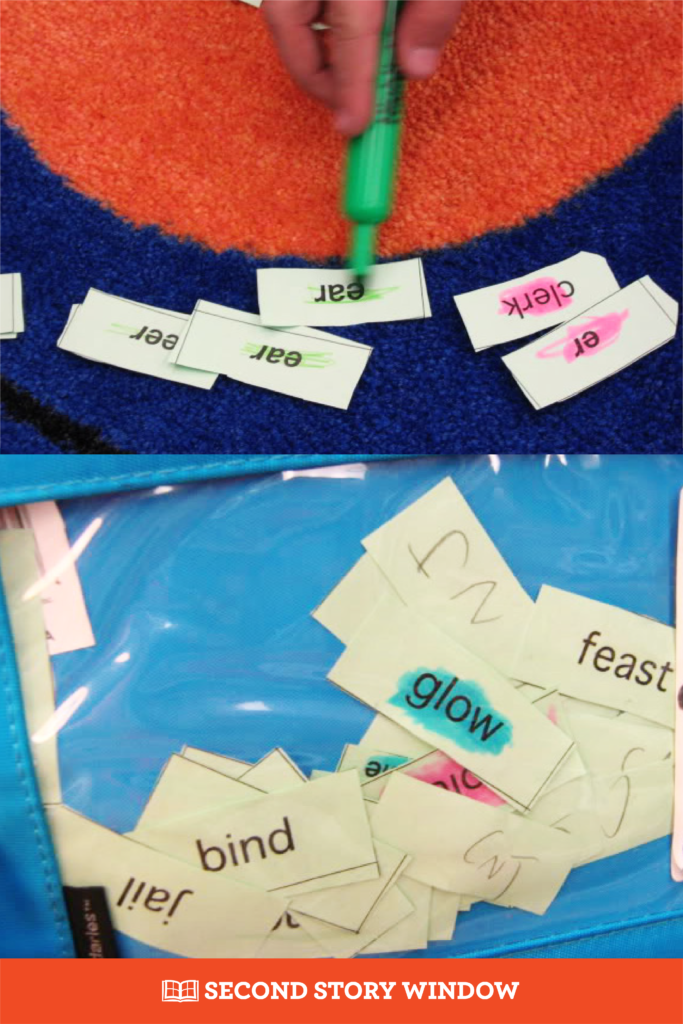 Words Their Way Word Sorts Routines