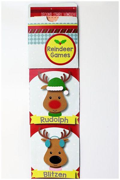 Reindeer Games Holiday Classroom Management Freebie
